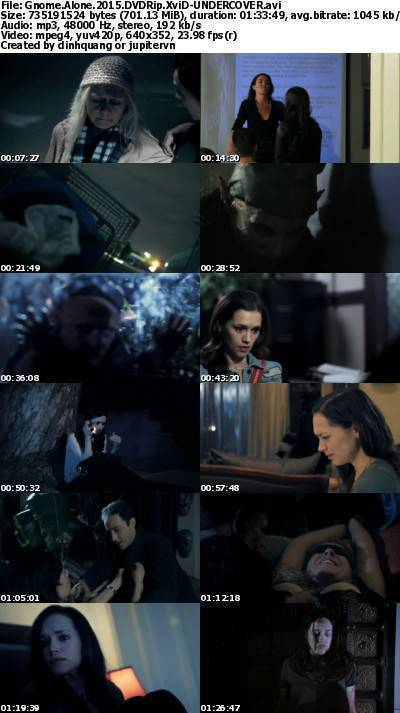 Gnome Alone (2015) DVDRip XviD-UNDERCOVER