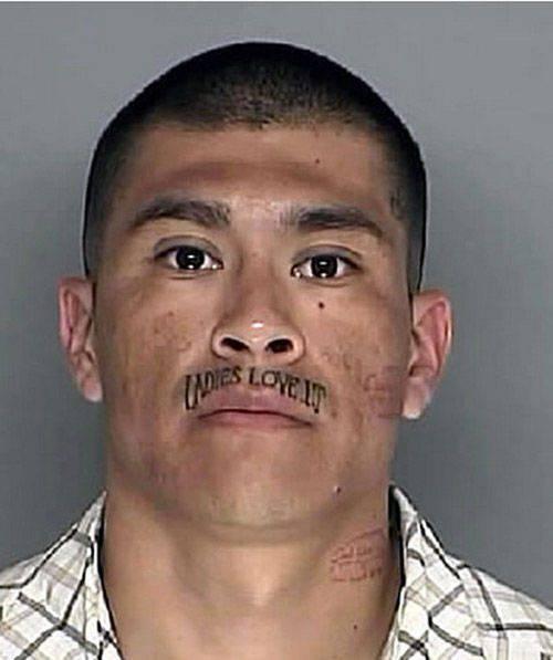 Tatuaże na twarzy #2 19