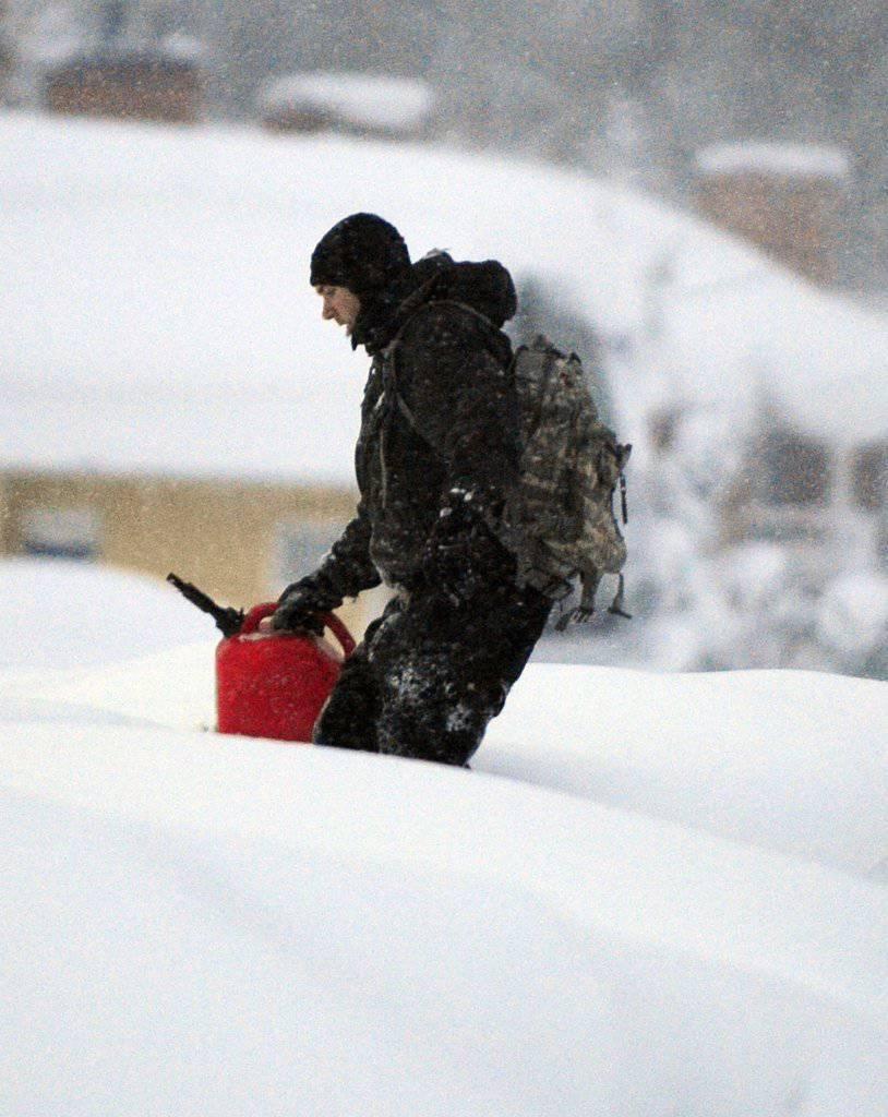 Śnieżyce w USA 1