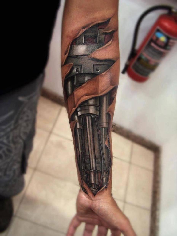 Realistyczne tatuaże #5 9