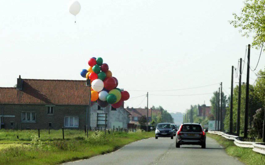 Balonem nad kanałem La Manche 2