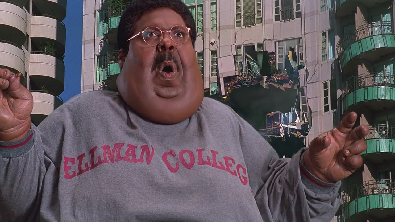 The Nutty Professor [1996] 720p BR Rip x264 [AC-3 ~ 2.0] [HINDI - ENG] ® Im Loser ®