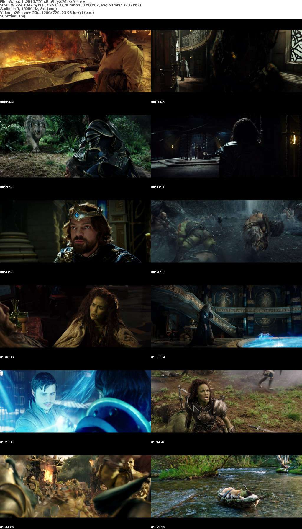 Warcraft 2016 720p BluRay x264 x0r