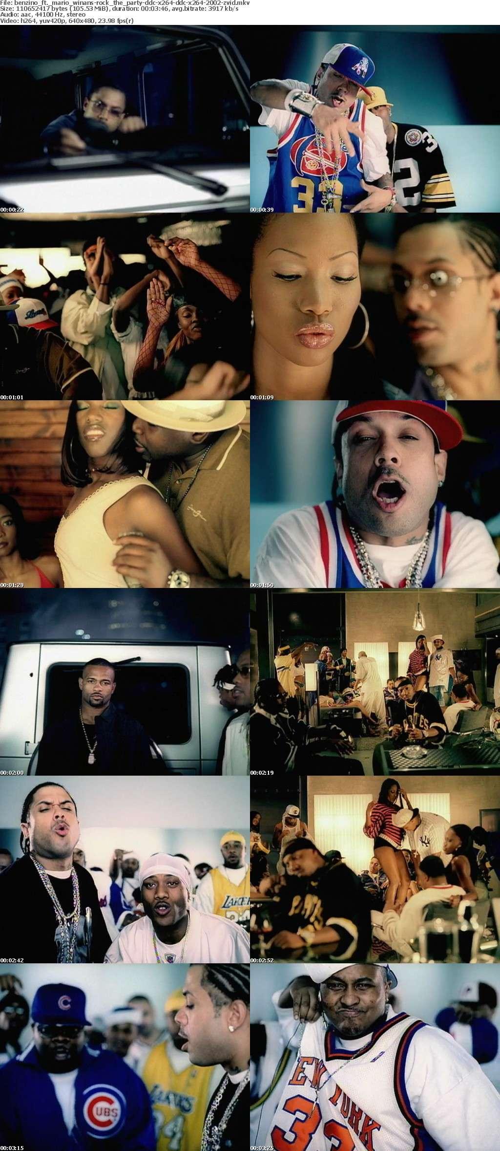 Benzino ft Mario Winans-Rock The Party-DDC-x264-DDC-x264-2002-ZViD