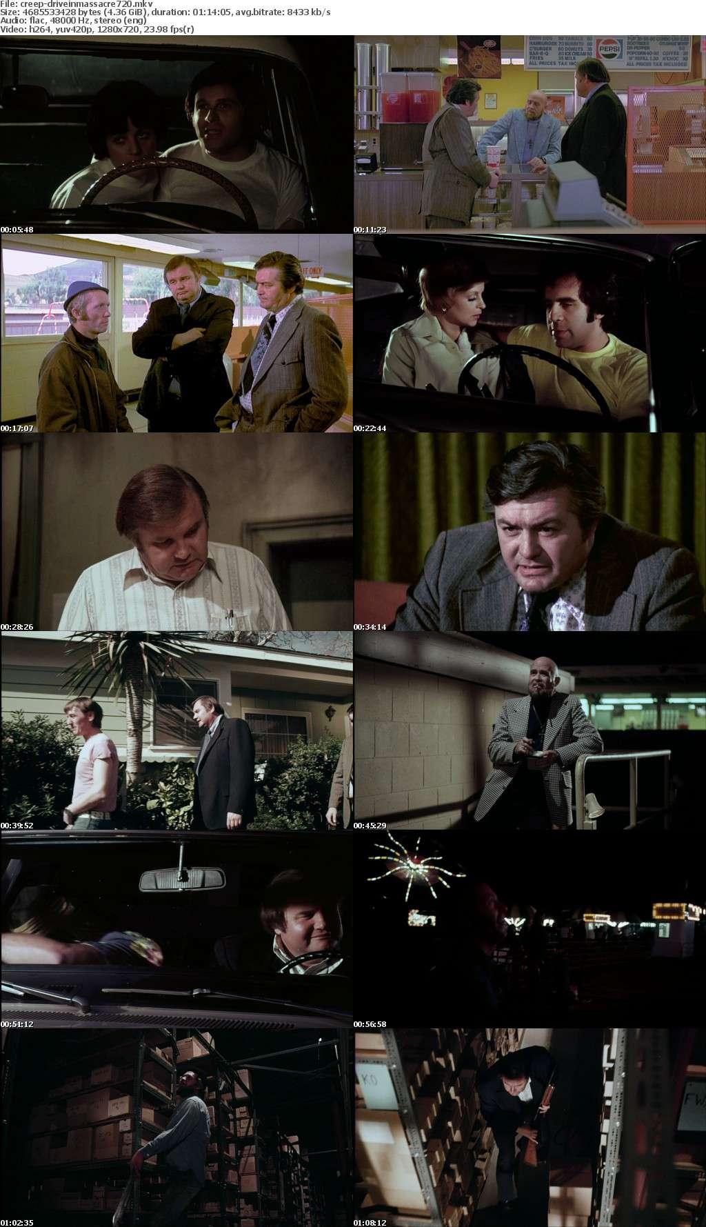 Drive In Massacre 1976 720p BluRay x264-CREEPSHOW