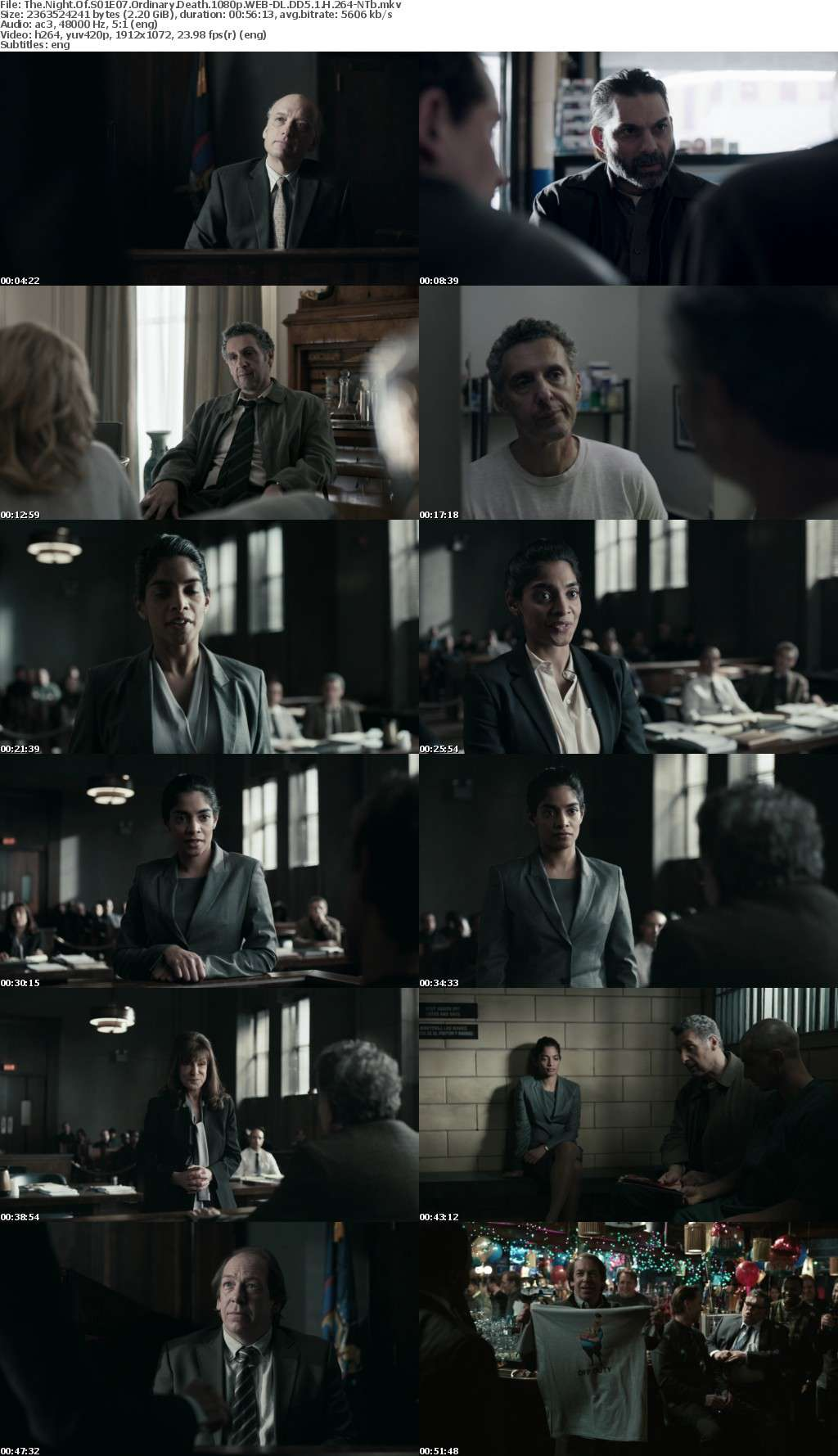 The Night Of S01 1080p WEB-DL DD5 1 H 264-NTb