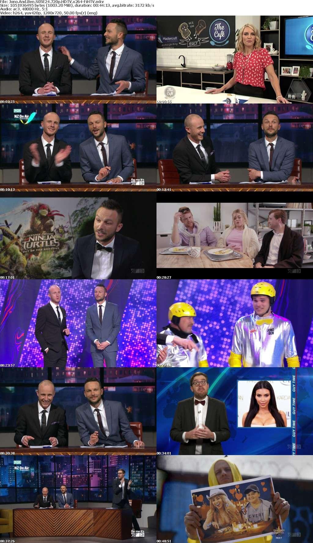 Jono And Ben S05E24 720p HDTV x264-FiHTV