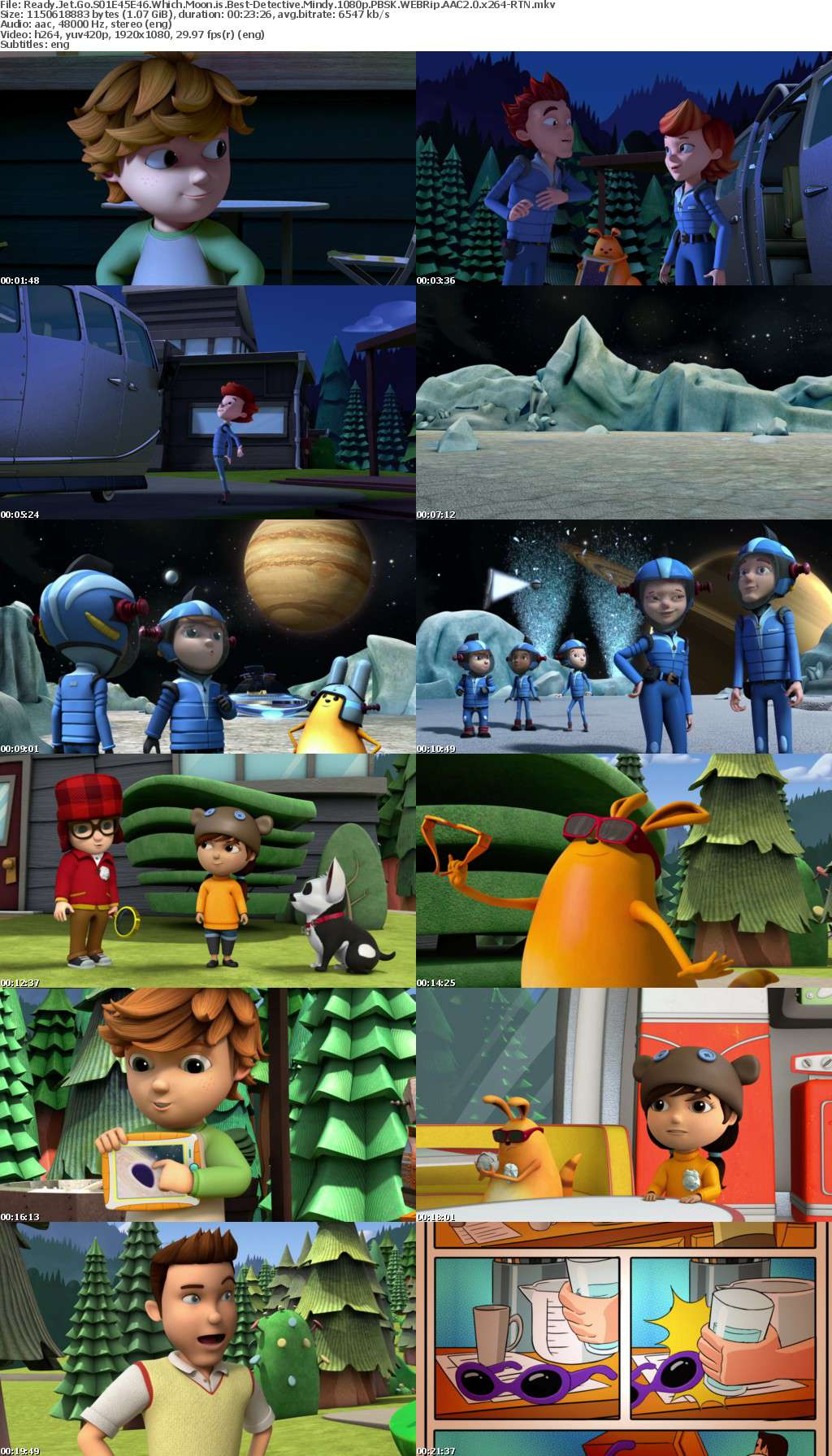 Ready Jet Go S01E45E46 Which Moon is Best-Detective Mindy 1080p PBSK WEBRip AAC2 0 x264-RTN