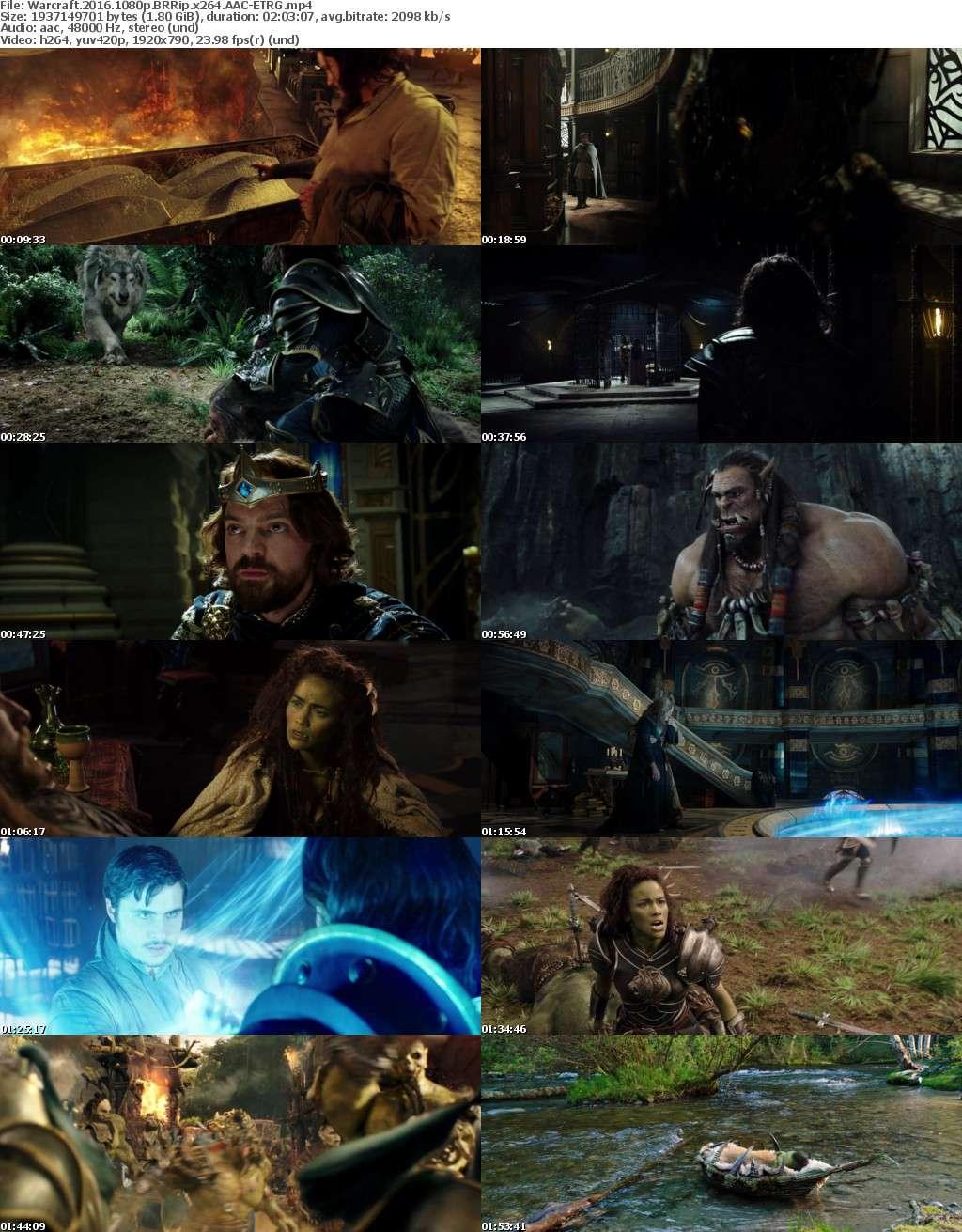 Warcraft 2016 1080p BRRip x264 AAC ETRG