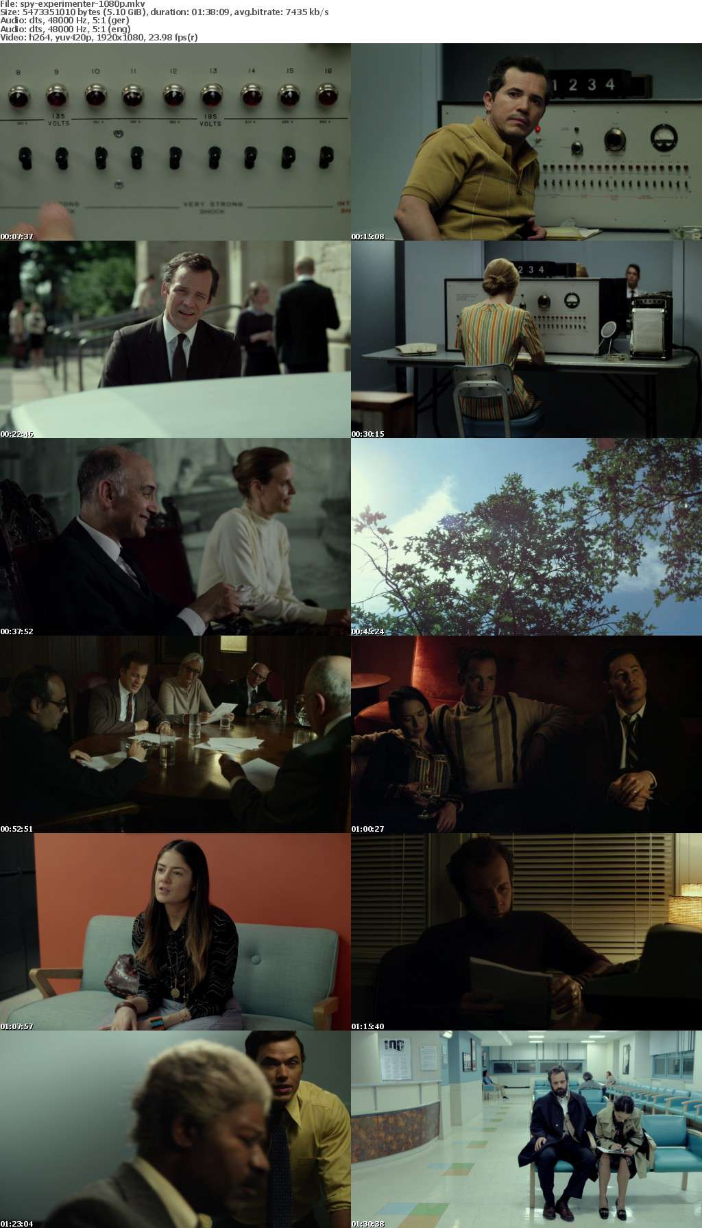 Experimenter Die Stanley Milgram Story 2015 German DL 1080p BluRay x264-SPiCY