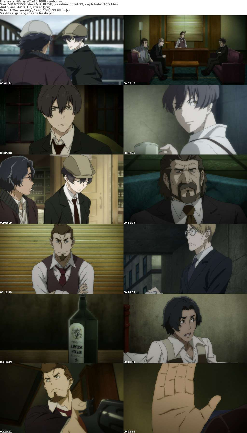 91 Days S01E10 1080p WEB x264-ANiURL