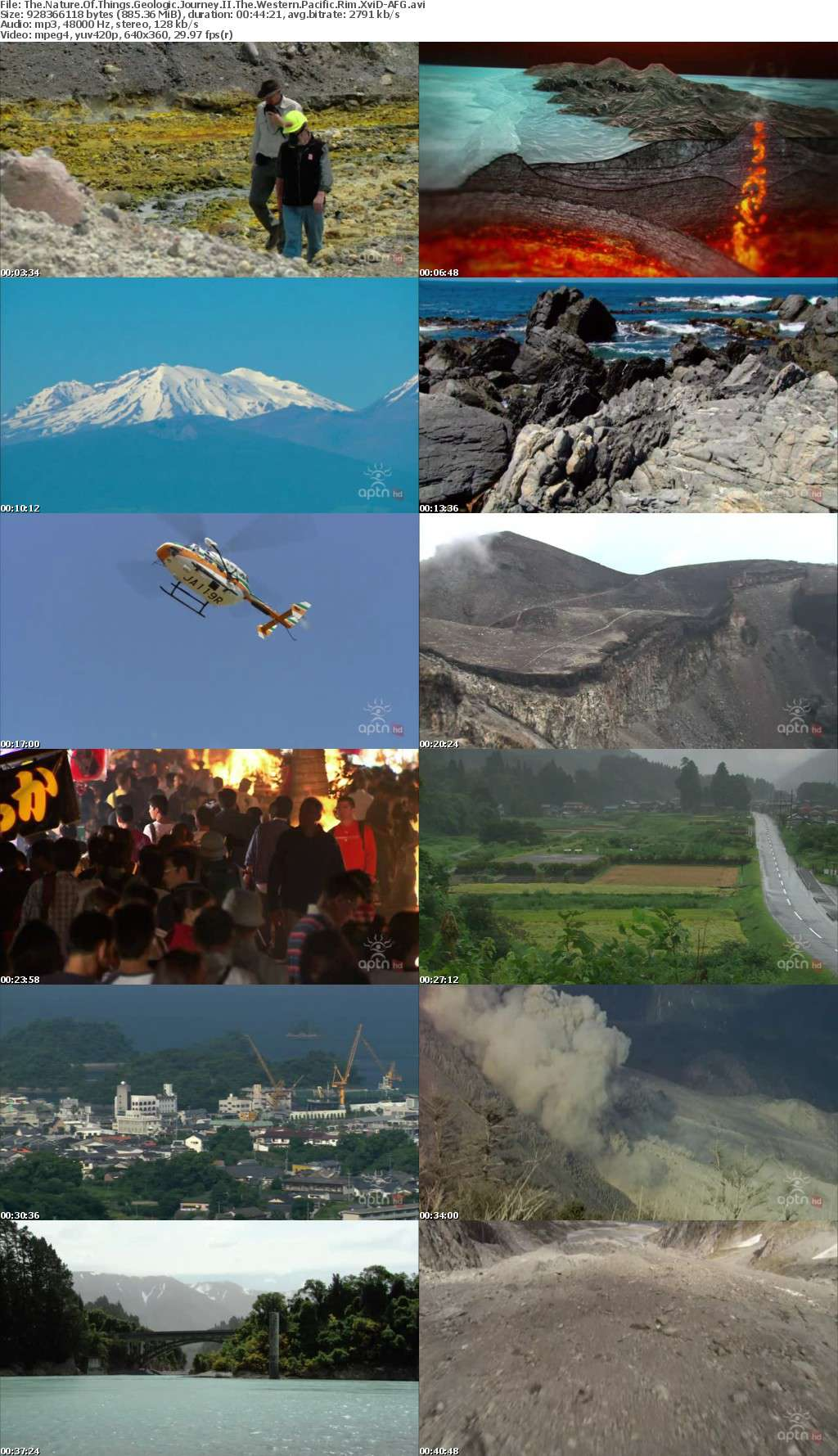 The Nature Of Things Geologic Journey II The Western Pacific Rim XviD-AFG