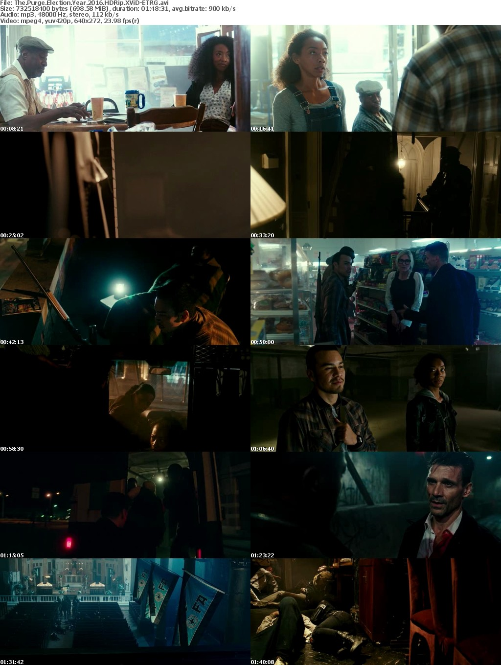 The Purge Election Year 2016 HDRip XViD ETRG