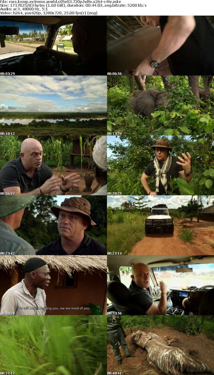 Ross Kemp Extreme World S05E03 720p HDTV x264-C4TV