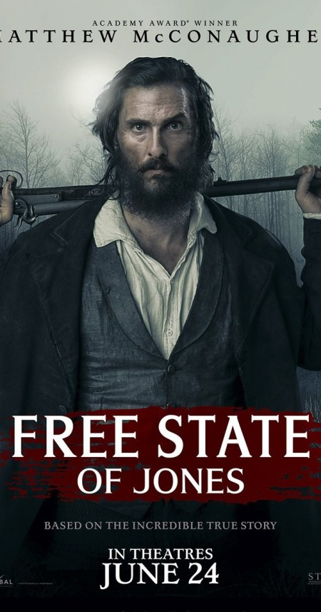Free State of Jones 2016 720p BDRip HEVC X265 Ac3-GANJAMAN