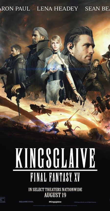 Kingsglaive Final Fantasy XV 2016 LiMiTED BRRip XviD AC3-iFT