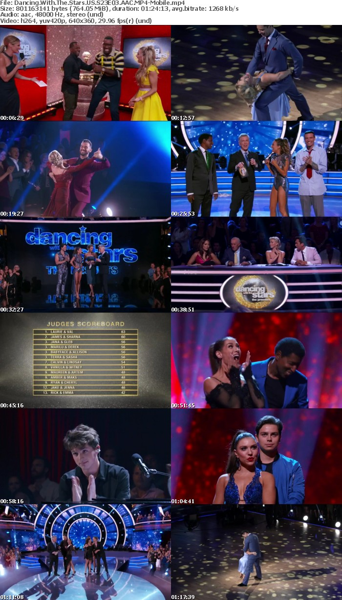 Dancing With The Stars US S23E03 AAC-Mobile