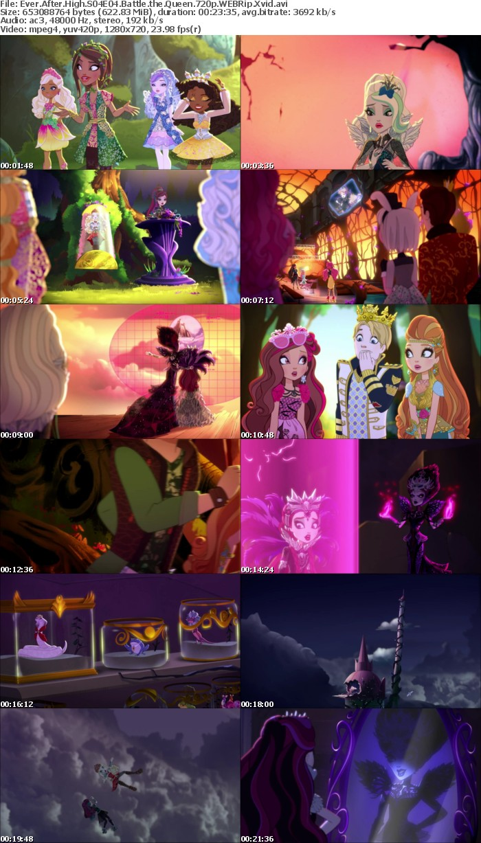 Ever After High S01-S05 720p WEBRip Xvid-ZORN