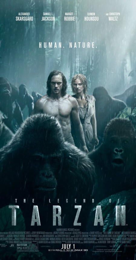 The Legend of Tarzan 2016 BRRip XviD-eXceSs