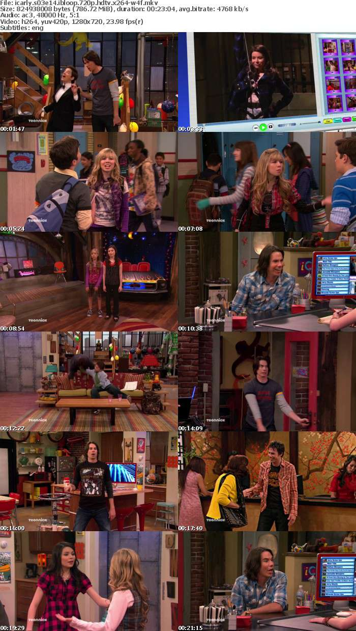 iCarly S03E14 iBloop 720p HDTV x264-W4F