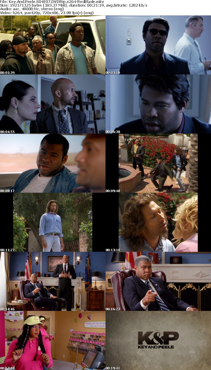 Key And Peele S04 DVDRip x264