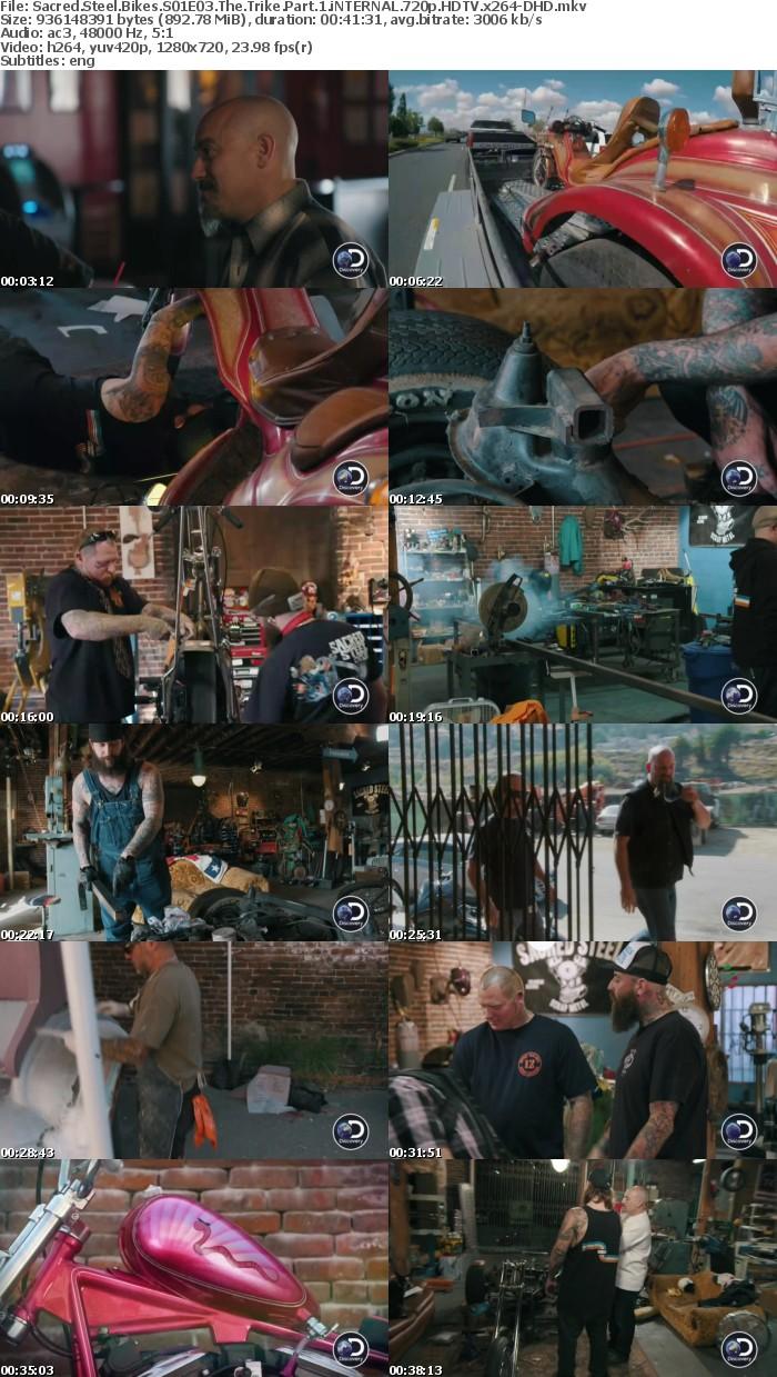 Sacred Steel Bikes S01E03 The Trike Part 1 iNTERNAL 720p HDTV x264-DHD
