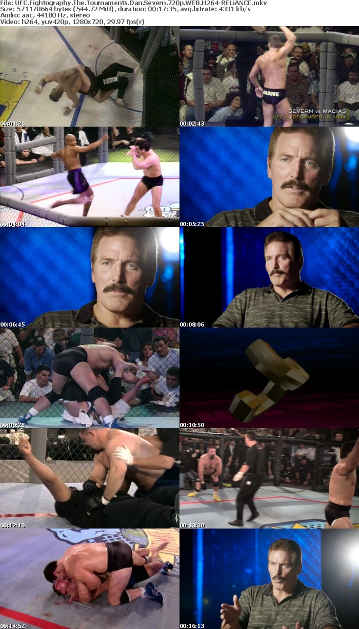 UFC Fightography The Tournaments Dan Severn 720p WEB H264-RELiANCE