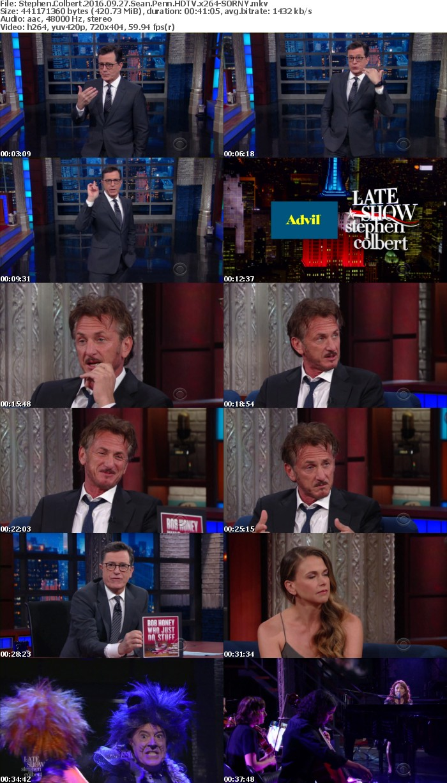 Stephen Colbert 2016 09 27 Sean Penn HDTV x264-SORNY
