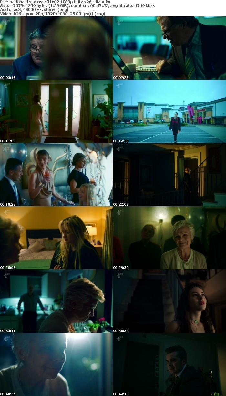 National Treasure S01E02 1080p HDTV x264A