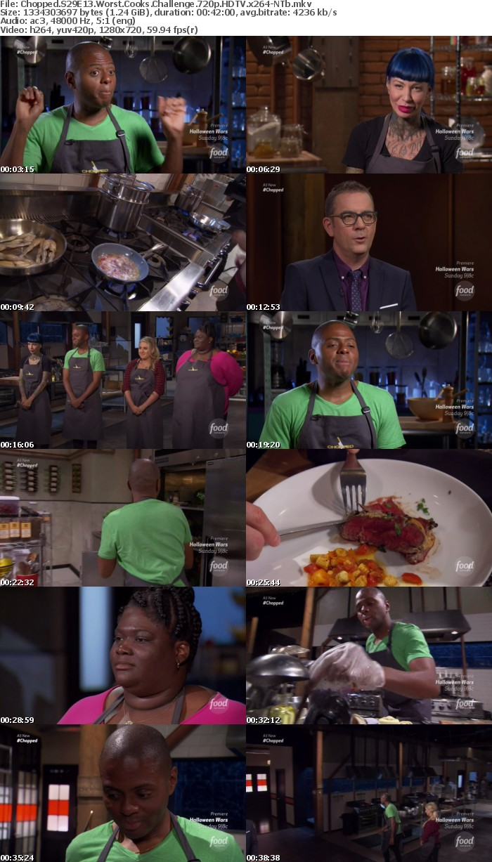 Chopped S29E13 Worst Cooks Challenge 720p HDTV x264-NTb