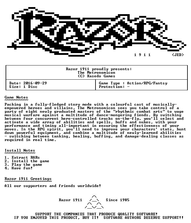 The Metronomicon-Razor1911