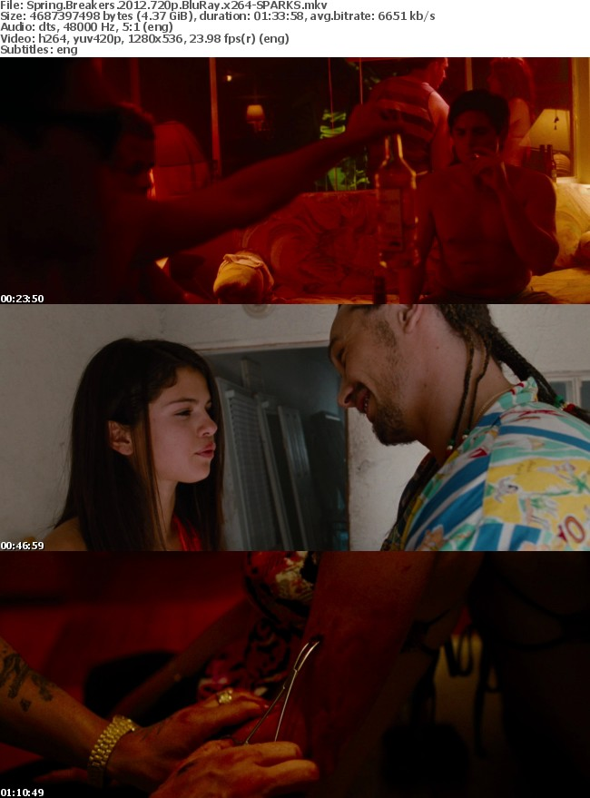Spring Breakers 2012 720p BluRay x264-SPARKS