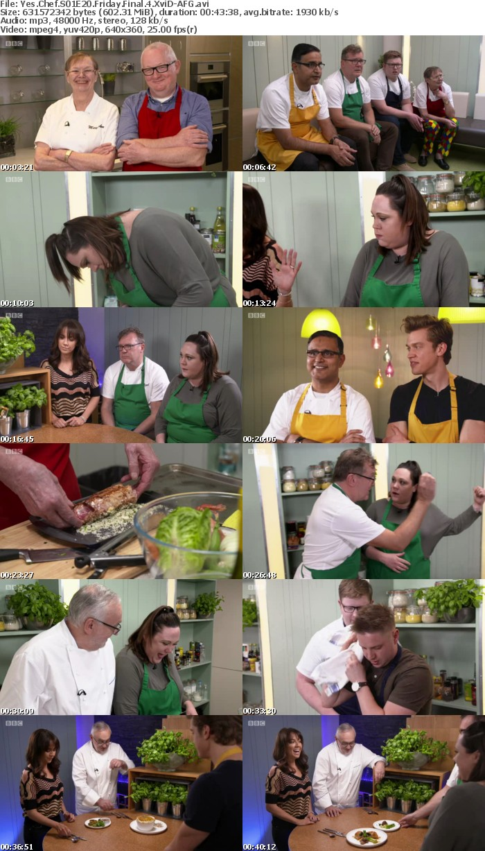 Yes Chef S01E20 Friday Final 4 XviD-AFG