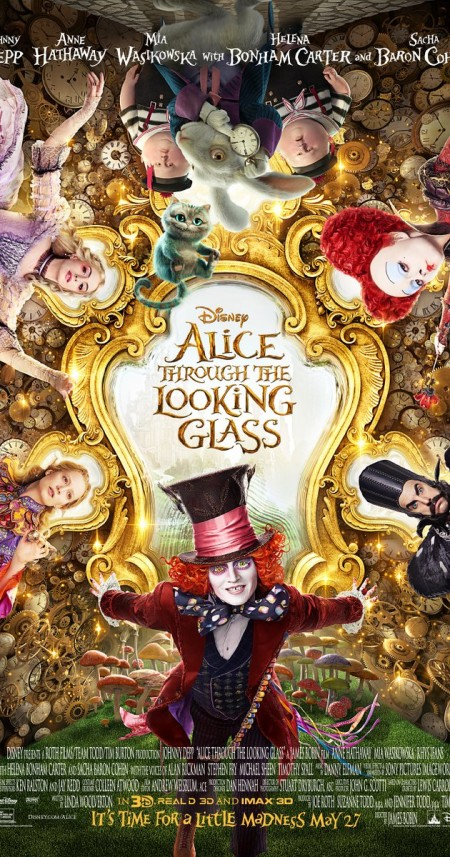 Alice Through the Looking Glass 2016 1080p BluRay DTS-HD MA7 1 x264-iFT