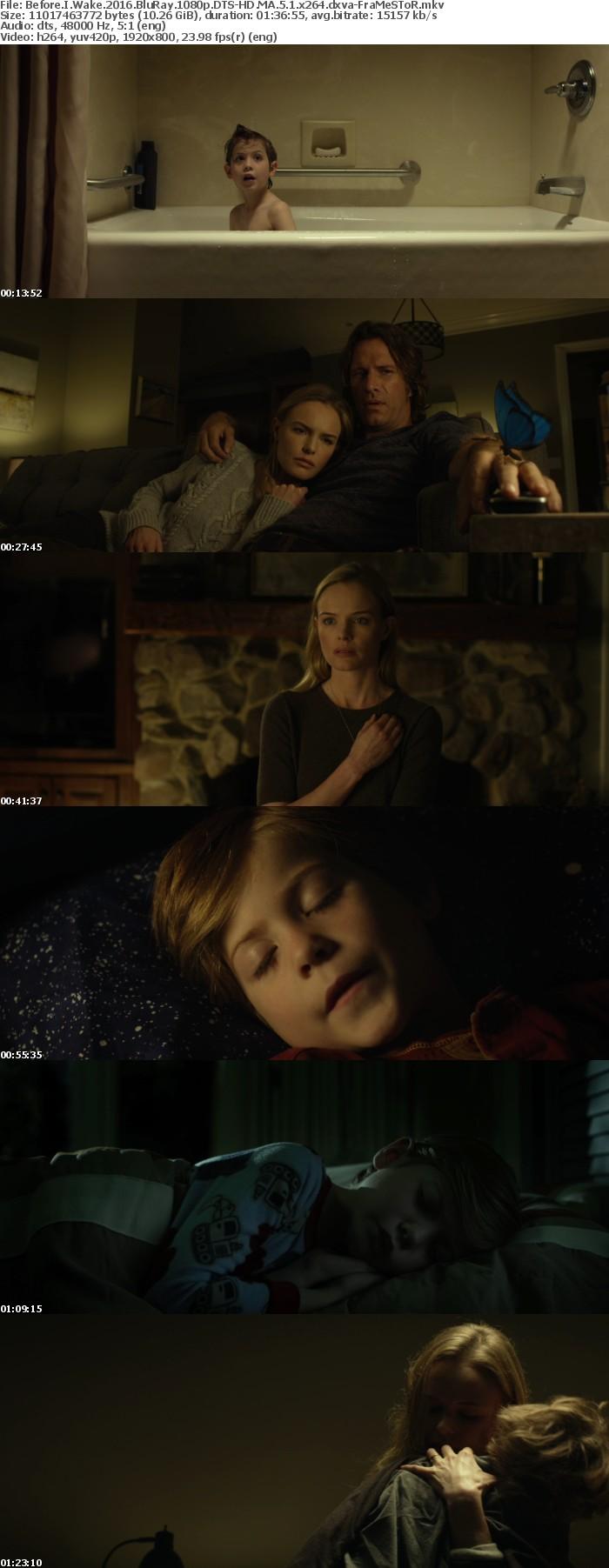 Before I Wake 2016 BluRay 1080p DTS-HD MA 5 1 x264 dxva-FraMeSToR