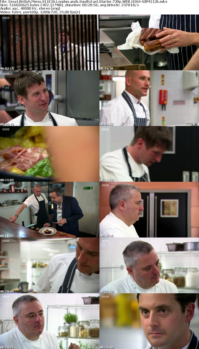Great British Menu S11E26 London ands South East Starter 720p WEB H264-GBM1126