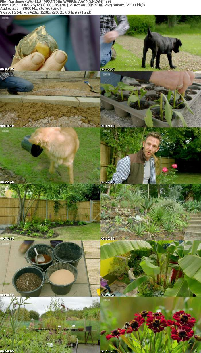 Gardeners World S49E25 720p WEBRip AAC2 0 H 264