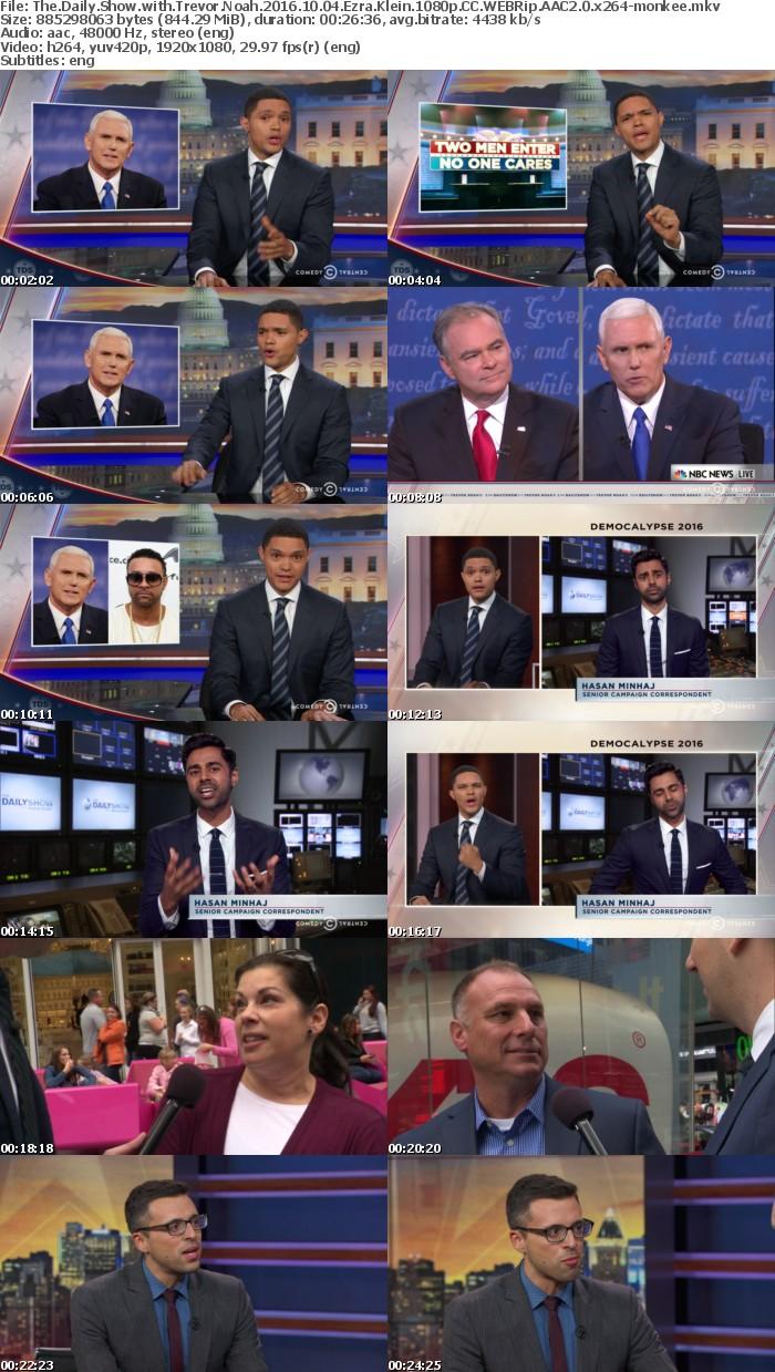 The Daily Show with Trevor Noah 2016 10 04 Ezra Klein 1080p CC WEBRip AAC2 0 x264-monkee