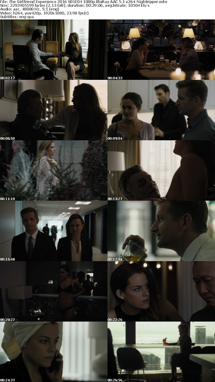 The Girlfriend Experience S01 2016 1080p BluRay AAC 5 1 x264-Nightripper