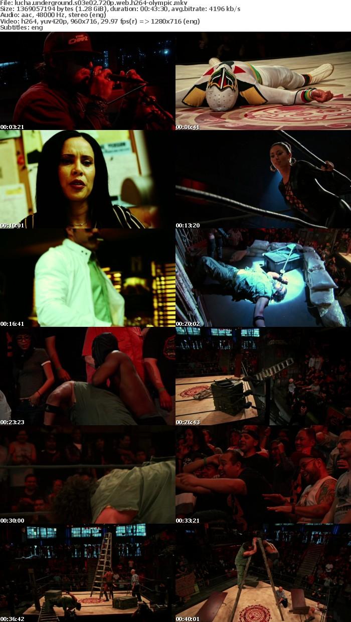 Lucha Underground S03E02 720p WEB h264-OLYMPiC