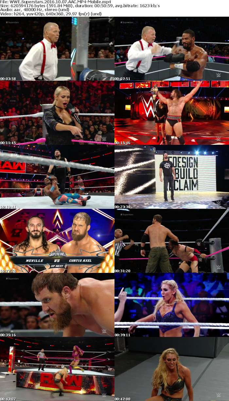 WWE Superstars 2016 10 07 AAC-Mobile