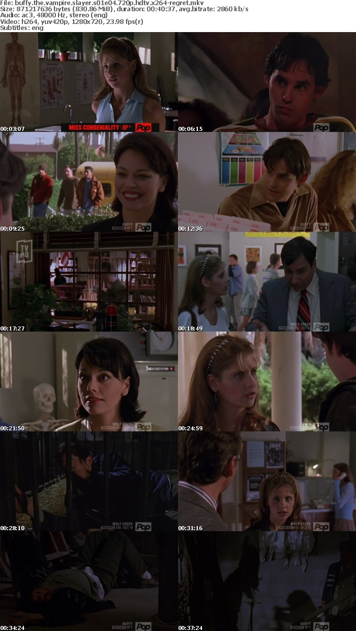 Buffy The Vampire Slayer S01E04 720p HDTV x264-REGRET