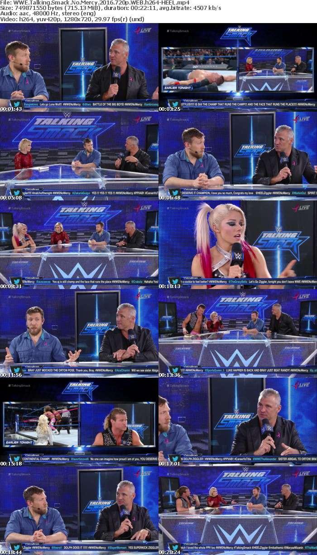 WWE Talking Smack No Mercy 2016 720p WEB h264-HEEL