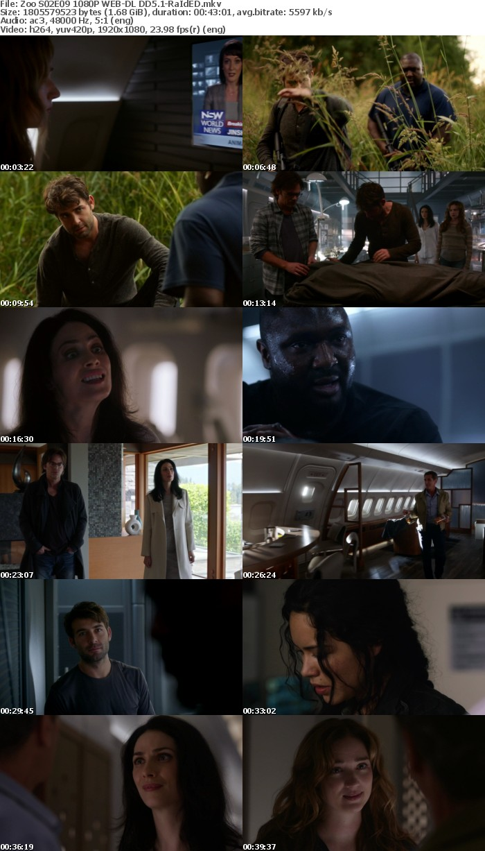 Zoo S02E09 1080P WEB-DL DD5 1-RaIdED - Zoo S02E11 1080P WEB-DL DD5 1-RaIdED