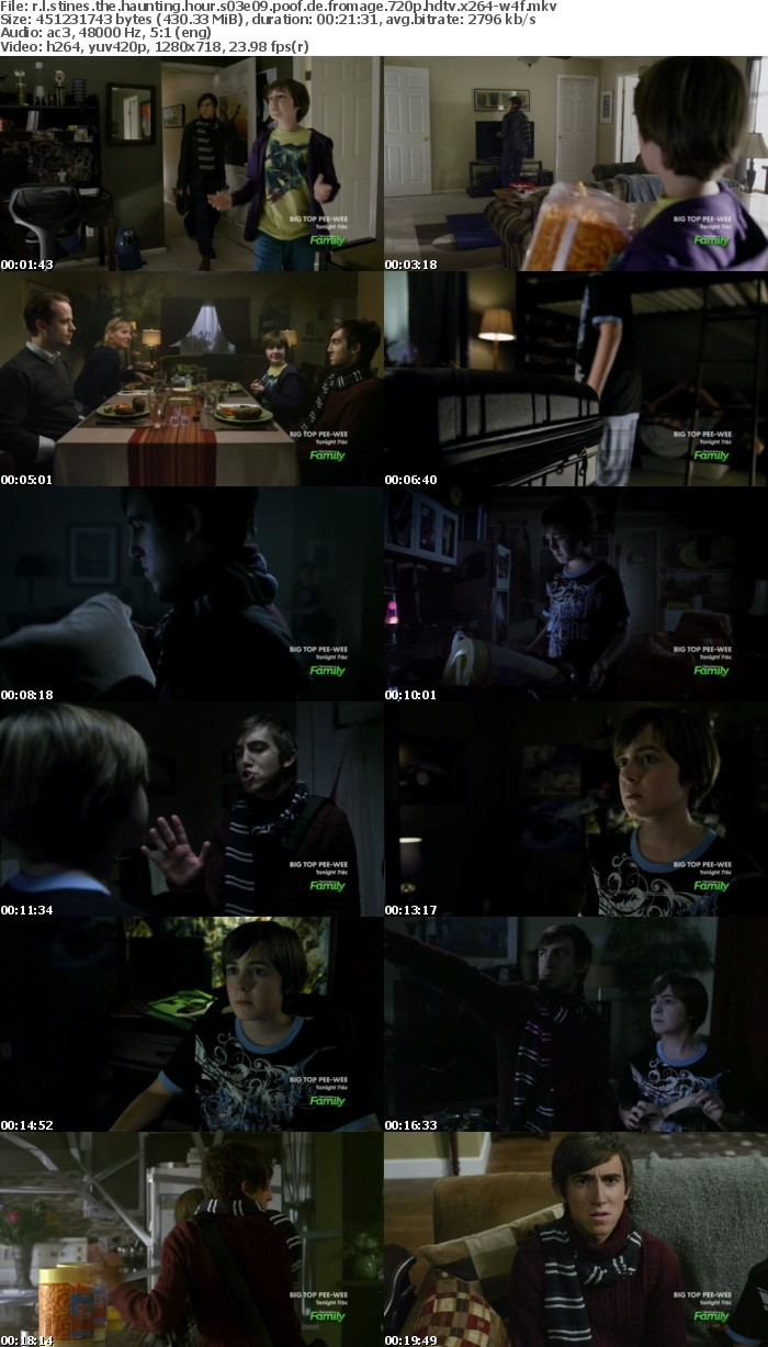 R L Stines The Haunting Hour S03E09 Poof de Fromage 720p HDTV x264-W4F