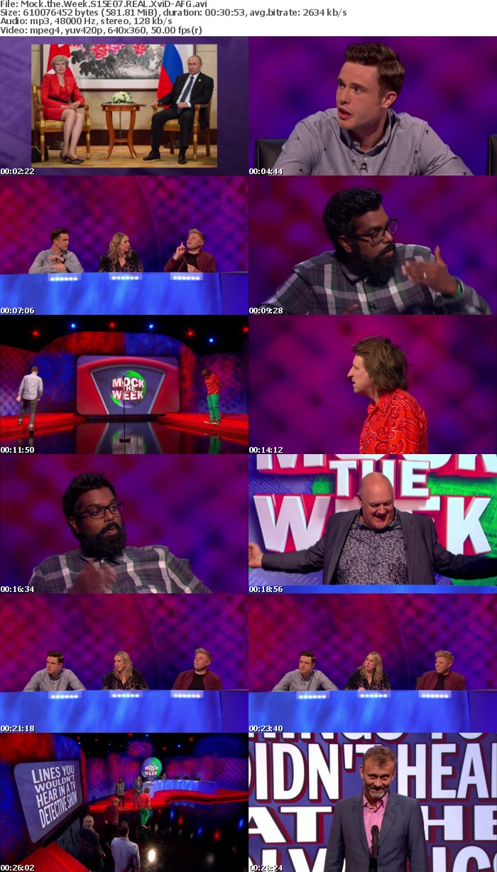 Mock the Week S15E07 REAL XviD-AFG