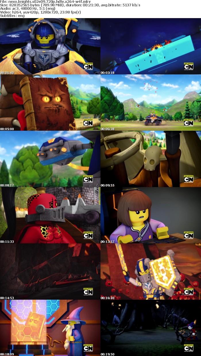 Nexo Knights S02E09 720p HDTV x264-W4F