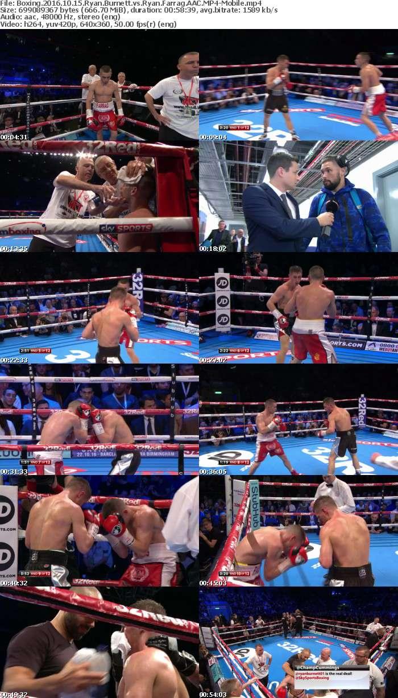 Boxing 2016 10 15 Ryan Burnett vs Ryan Farrag AAC-Mobile