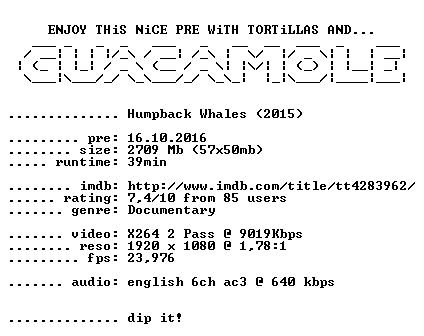 Humpback Whales 2015 1080p BluRay x264-GUACAMOLE