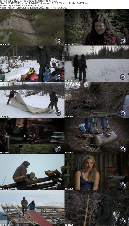 Alaska-The Last Frontier S06E01 XviD-AFG
